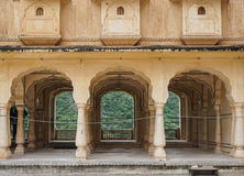 Amber Fort in Jaipur, India. The 27-pillared Diwan-i-Aam of the Amer Fort in Jaipur, India. The Amer Fort, situated in Amber, 11 kilometers from Jaipur, is one stock images