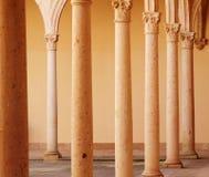 Pillars. Few pillars in a row Stock Photo