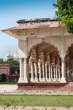 Pillars in Agra Fort Royalty Free Stock Photo