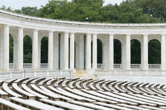 Pillars in an amphitheater Royalty Free Stock Photography
