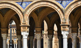 Pillars and arches Royalty Free Stock Images