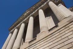 Pillars of building Stock Photography