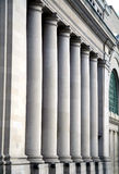 Pillars at Canadian Government Building Stock Photo