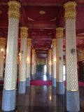 Pillars of the Church Royalty Free Stock Photos