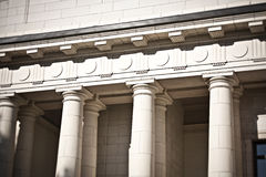 Pillars and Columns Architecture Stock Images