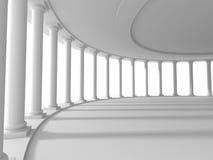 Pillars columns design architecture background Stock Image