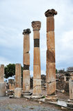 Pillars of the Ephesus Basilica Royalty Free Stock Images