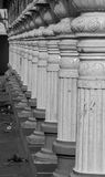Pillars of Indian architecture Stock Image