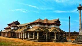 1000 Pillars jain temple Royalty Free Stock Photo