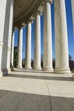 Pillars at the Jefferson Memorial Stock Photo