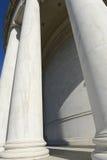 Pillars at the Jefferson Memorial Stock Photography
