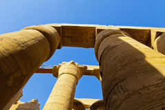 Pillars of Karnak Stock Photo