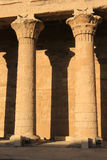 Pillars at Karnak Temple, Egypt Royalty Free Stock Images