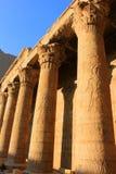 Pillars at Karnak Temple, Egypt Royalty Free Stock Photo