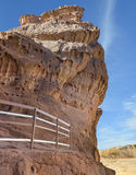Pillars of the king Solomon in geological Timna park Stock Photography