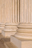Pillars of Law and Information Royalty Free Stock Photo