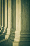 Pillars of Law and Justice Royalty Free Stock Image