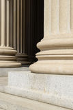 Pillars of Law Royalty Free Stock Photos