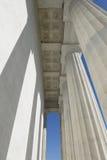 Pillars at Lincoln Memorial Royalty Free Stock Photos