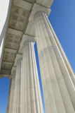 Pillars at Lincoln Memorial Stock Photography