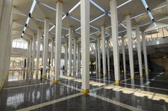 Pillars at Malaysia National Mosque aka Masjid Negara Stock Photography