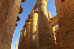 Pillars and obelisk Royalty Free Stock Photos