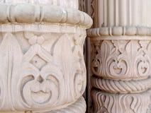 Pillars pattern Stock Photography