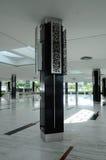 Pillars of Puncak Alam Mosque at Selangor, Malaysia Royalty Free Stock Images