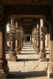 Pillars in qutub minar Royalty Free Stock Photography