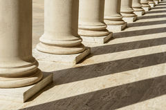 Pillars in a Row Royalty Free Stock Image