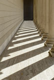 Pillars in a Row Royalty Free Stock Photography