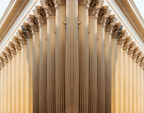Pillars in row Stock Photo