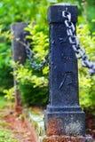 Pillars, shut-off Stock Images