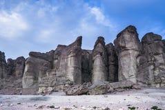 Pillars of Solomon's king Royalty Free Stock Photo