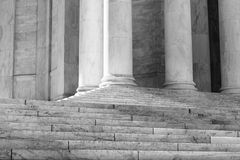 Pillars and Stairs Royalty Free Stock Photo