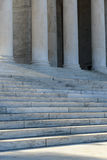 Pillars and Stairs Stock Image