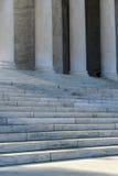 Pillars and Stairs Stock Image