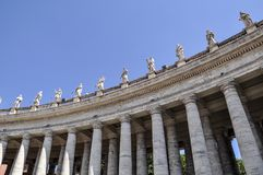 St. Peter Basilica in the Vatican royalty free stock photography