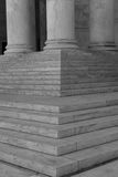 Pillars and Steps Stock Photography