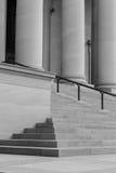 Pillars and Steps Stock Image