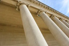 Pillars of Strength stock images