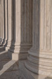 Pillars of the Supreme Court of the United States Stock Images