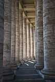 Pillars in the Vatican Royalty Free Stock Images