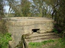 Pillbox da segunda guerra mundial Imagem de Stock