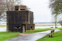 Pillbox della fortificazione di Coalhouse Immagine Stock Libera da Diritti
