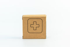 Pillbox isolated Royalty Free Stock Photos
