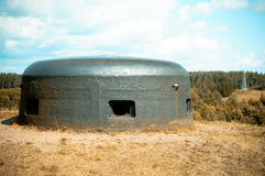 Pillbox in Polnd Royalty Free Stock Photo