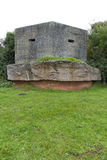 Pillbox, second world war. World War II pillbox on the Taunton Stop Line at Creech St Michael, Somerset, England, United  Kingdom Royalty Free Stock Photography