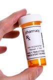 Pille-Flasche Lizenzfreies Stockfoto