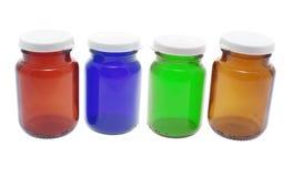 Pille-Flaschen stockfoto